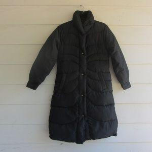 Vintage Tempco Black Goose Down Puffer Jacket